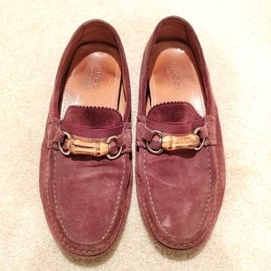 Gucci mens suede loafers 7
